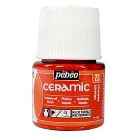 Pintura Ceramic Naranja 45 ml