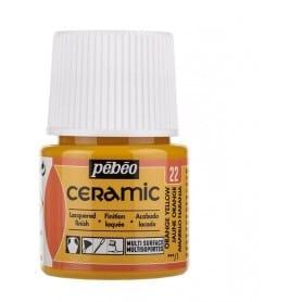 Pintura Ceramic Amarillo Naranja 45 ml