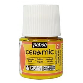 Pintura Ceramic Amarillo Rico 45 ml nº21