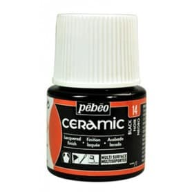 Pintura Ceramic Negro 45 ml nº14