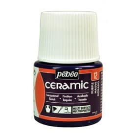 Pintura Ceramic Malva 45 ml nº12