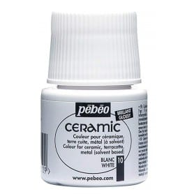 Pintura Ceramic Blanco 45 ml nº10
