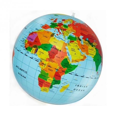 Globo del Mundo Hinchable 50 cm