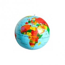 Globo del Mundo Hinchable 30cm