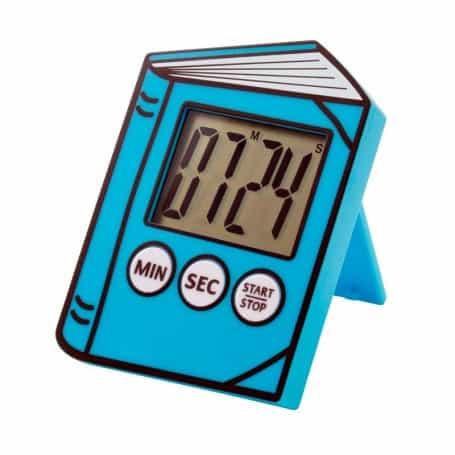 Cronómetro de Lectura para Niños Azul