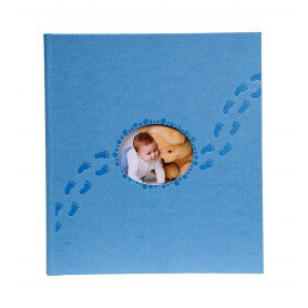 Álbum de Fotos Infantil Piloo Azul