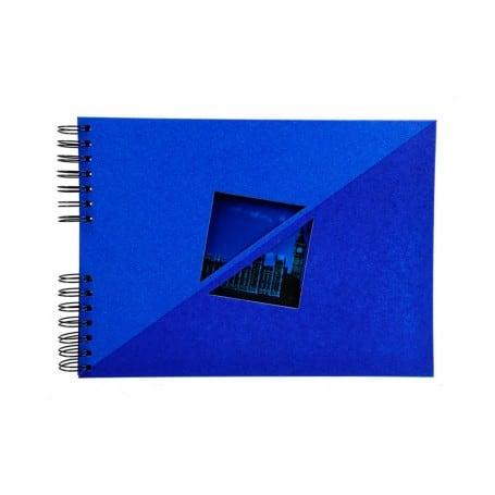 Álbum de Fotos Espiral Twist Azul