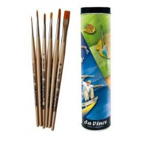 Set Pinceles da Vinci Junior + Lata regalo