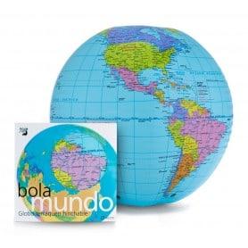 Globo hinchable Bolamundo 40cm