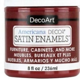 Americana Decor Satin Enamels Deep Ruby 236 ml