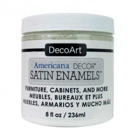 Americana Decor Satin Enamels Blanco Puro 236 ml