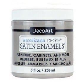 Americana Decor Satin Enamels Grey Taupe 236 ml
