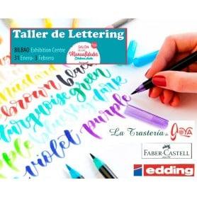 16:00-17:30 Curso Lettering Colour Happy
