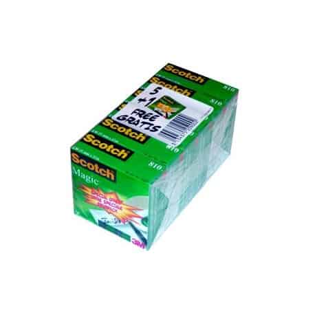 Cinta adhesiva Scotch Magic 810 6 x 5 Oferta