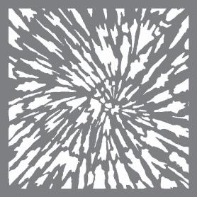Plantilla Stencil 30,5x 30,5 cm Explosión