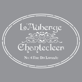 Plantilla Stencil 30,5x 30,5 cm Chantecleers