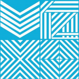 Plantilla Stencil 30,5x 30,5 cm Ángulos
