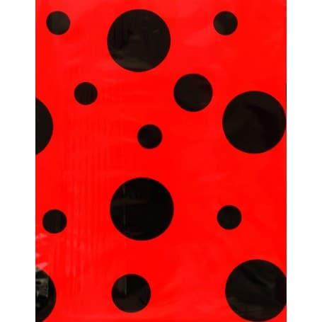 Bolsa de Disfraz Mariquita Negro / Rojo