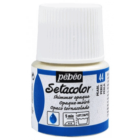 Setacolor tornasolado 44 Perla 45 ml
