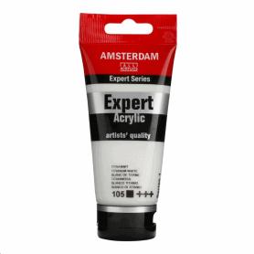 Acrílico Amsterdam Expert Series 105 75 ml Blanco de titanio