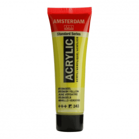 Acrílico Amsterdam 243 20 ml Amarillo verdoso