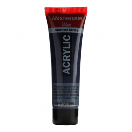 Acrílico Amsterdam 566 20 ml Azul Prusia ftalo