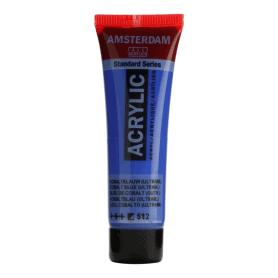 Acrílico Amsterdam 512 20 ml Azul cobalto ultramar