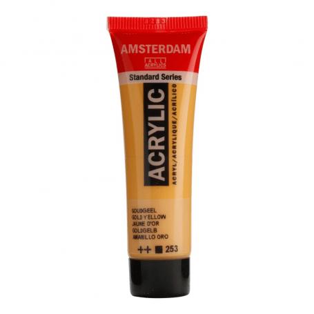 Acrílico Amsterdam 253 20 ml Amarillo oro