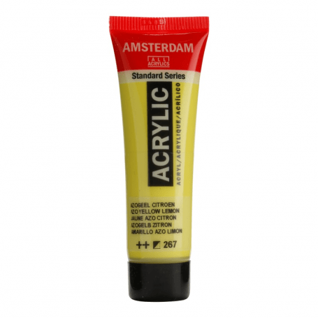Acrílico Amsterdam 267 20 ml Amarillo Azo limón