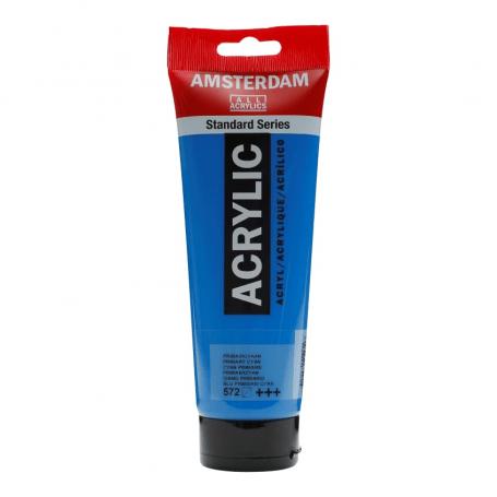 Acrílico Amsterdam 572 250 ml Ciano Primario