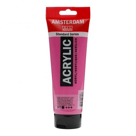 Acrílico Amsterdam 577 250 ml Violeta Rojo Permanente