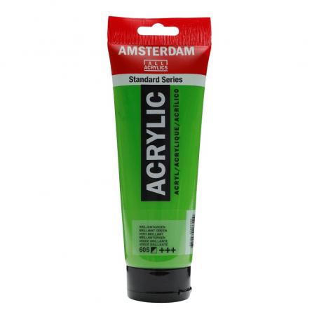 Acrílico Amsterdam 605 250 ml Verde Brillante
