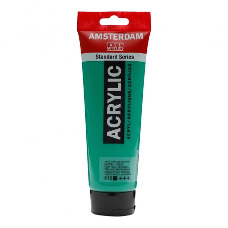 Acrílico Amsterdam 615 250 ml Verde Permanente Veronés