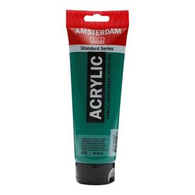 Acrílico Amsterdam 619 250 ml Verde Permanente Oscuro