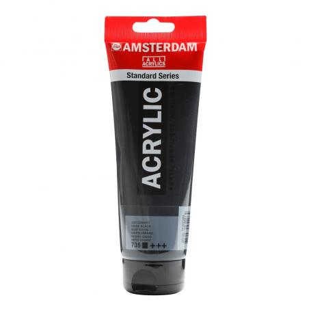 Acrílico Amsterdam 735 250 ml Negro Óxido