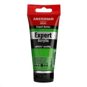 Acrílico Amsterdam Expert Series 618 75 ml Verde permanente claro
