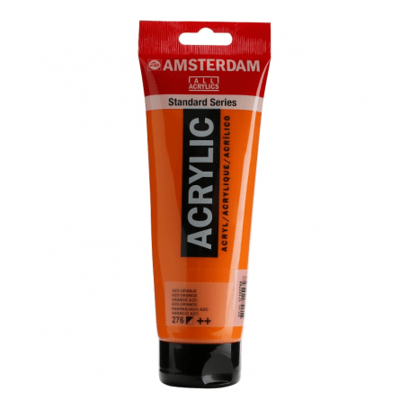 Acrílico Amsterdam 276 250 ml Anaranjado Azo