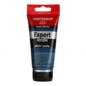 Acrílico Amsterdam Expert Series 565 75 ml Azul turquesa ftalo