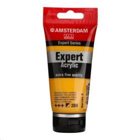 Acrílico Amsterdam Expert Series 285 75 ml Amarillo permanente oscuro