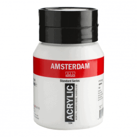 Acrílico Amsterdam 104 500 ml Blanco de Cinc