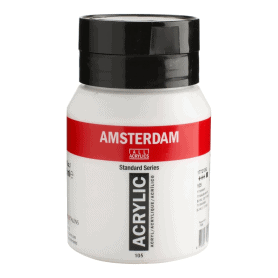 Acrílico Amsterdam 105 500 ml Blanco Titanio