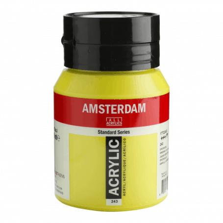 Acrílico Amsterdam 243 500 ml Amarillo Verdoso