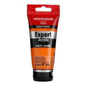 Acrílico Amsterdam Expert Series 266 75 ml Anaranjado permanente