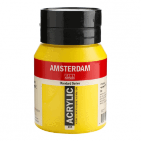 Acrílico Amsterdam 268 500 ml Amarillo Azo Claro