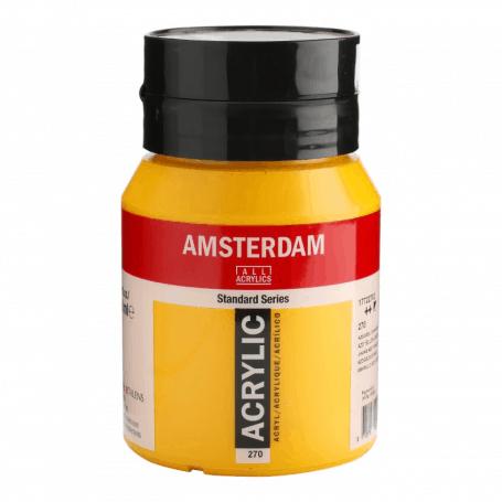 Acrílico Amsterdam 270 500 ml Amarillo Azo Oscuro
