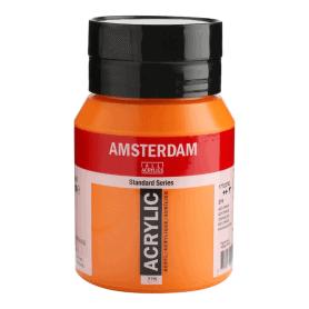 Acrílico Amsterdam 276 500 ml Anaranjado Azo