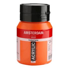 Acrílico Amsterdam 311 500 ml Bermellón