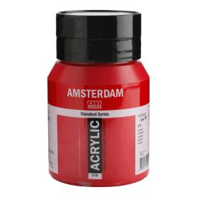 Acrílico Amsterdam 318 500 ml Carmín