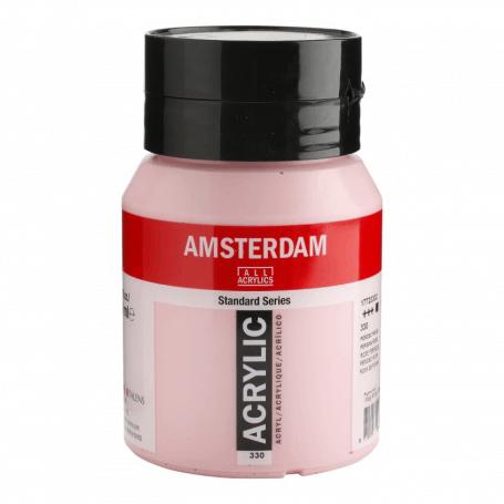 Acrílico Amsterdam 330 500 ml Rosa De Persia