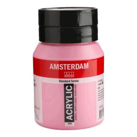 Acrílico Amsterdam 385 500 ml Rosa Quinacridona Claro